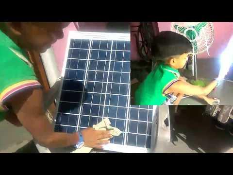 How Solar Panel Working Without Battery. सौर पैनल का उपयोग कैसे करें।