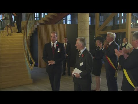 Will and Kate meet Belgian Royals before Passchendaele event