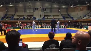 Female final (Marina Sobanina - Lilla Herczeg) on the 5th World Championship IKO Matsushima