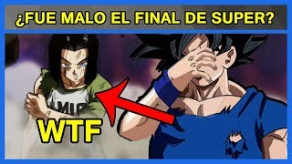 Dragon Ball Super: ¿Fue MALO el FINAL de SUPER?