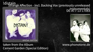 !distain - Cement Garden (Special Edition) - Strange Affection - Backing(unr) [DE-AT7-13-17083]