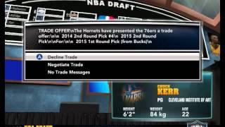 NBA 2K14. Draft 2001(2014)