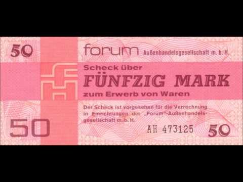 GERMAN DEMOCRATIC REPUBLIC FOREIGN EXCHANGE CERTIFICATES 1979 ISSUE