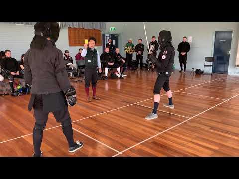 Victorian Historical Fencing Open - Ronald Lee vs. Den Kaminev (Elimination) - Part 2