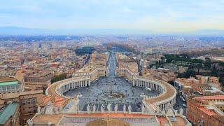 世界一周旅行!世界一小さい国バチカン市国へ。The smallest country in The World, Vatican City. #48