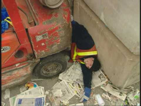 Young Forklift Operator Breaks His Back