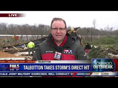 Tornado Damage In Georgia