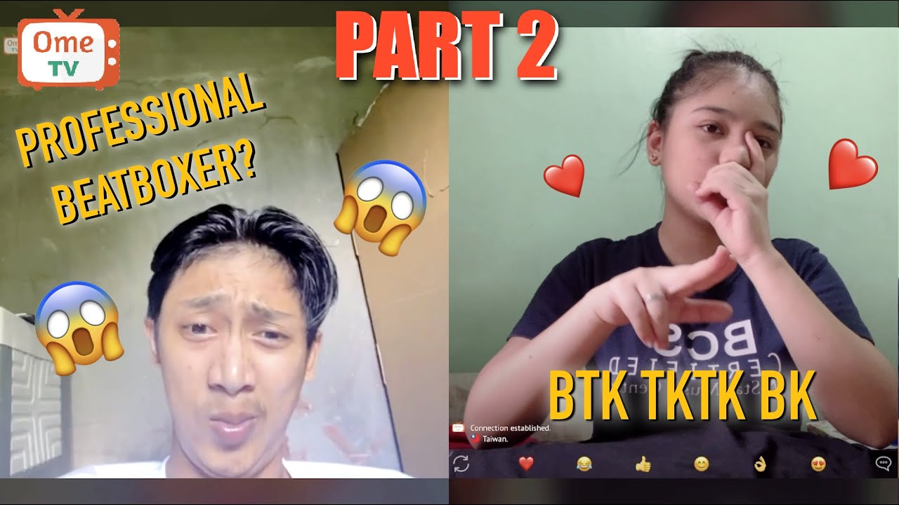 BEATBOX QUEEN PRANK in OMEGLE PART 2 ( BEST REACTIONS ) SOBRANG LAUGHTRIP!