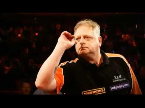 Gary - Gary Robson v Garry Thompson - BBC1 - BDO Darts World Championship