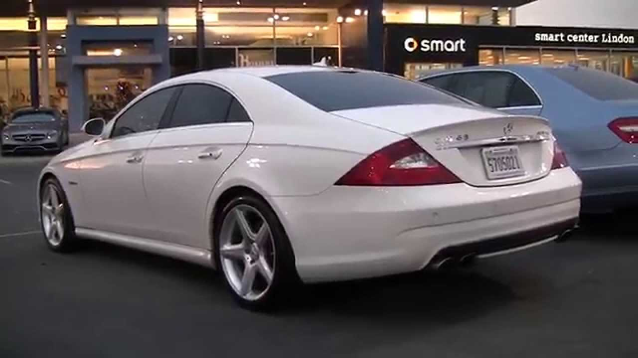 Mercedes Benz 2008 Cls63 Amg 174 8a130599 Youtube