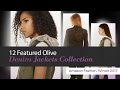 12 Featured Olive Denim Jackets Collection Amazon Fashion, Winter 2017