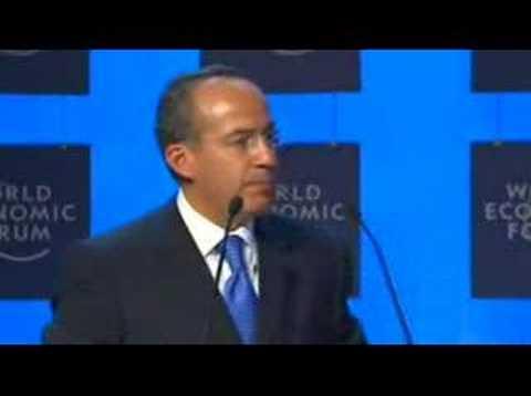 Davos  Annual Meeting 2007 - Felipe Calderón-Hinojosa