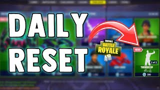 FORTNITE DAILY SKIN RESET - NEW THUMBS DOWN EMOTE - Fortnite Battle Royale NEW Items in Item Shop