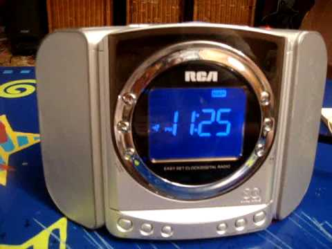 Am Fm Cd Player Dual Wake Clock Radio
