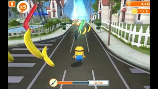 Despicable Me: Minion Rush - Mower Minions Special Mission Gameplay