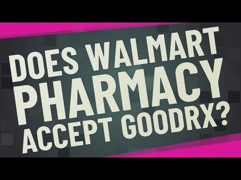 Does Walmart Pharmacy Accept GoodRx?