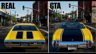 GTA Cars VS REAL LIFE Cars | 2018 GTA 6 ULTRA Realistic GRAPHICS GAMEPLAY 3 GTA V MOD