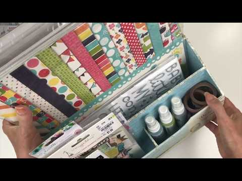 Organizing Scrapbook Kits/Projects
