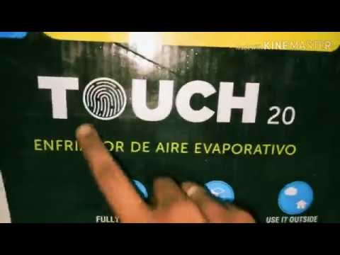symphony air cooler review tamil/ symphony touch 20 air cooler/mini budget ac unboxing/ tower fan
