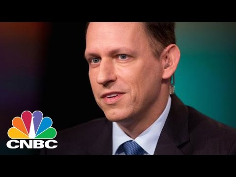 Peter Thiel 'Has Not Yet Given Donald Trump A Penny' | CNBC