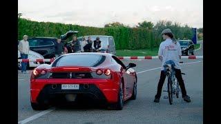 Rocket Bicycle World Record ǀ 333 km/h (207 mph) ǀ Rider: François Gissy