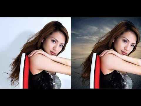 Tutorial Photoshop : Cara Seleksi Rambut Yang Mudah Dan Cepat