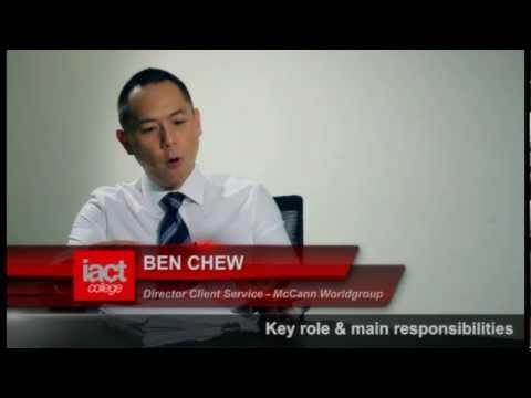 Ben Chew - Director Client Service - McCann Worldgroup