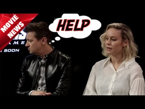 Jeremy Renner Can't Stand Brie Larson - Compared To Scarlett Johansson
