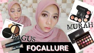 Download lagu FOCALLURE One Brand Makeup Tutorial !!! Makeup Bagus & Murah !!!    Cyintia Rachmawati