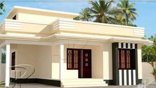 Single Story Small House 🏡 With 3 Bedroom, Living, Kitchen And Store