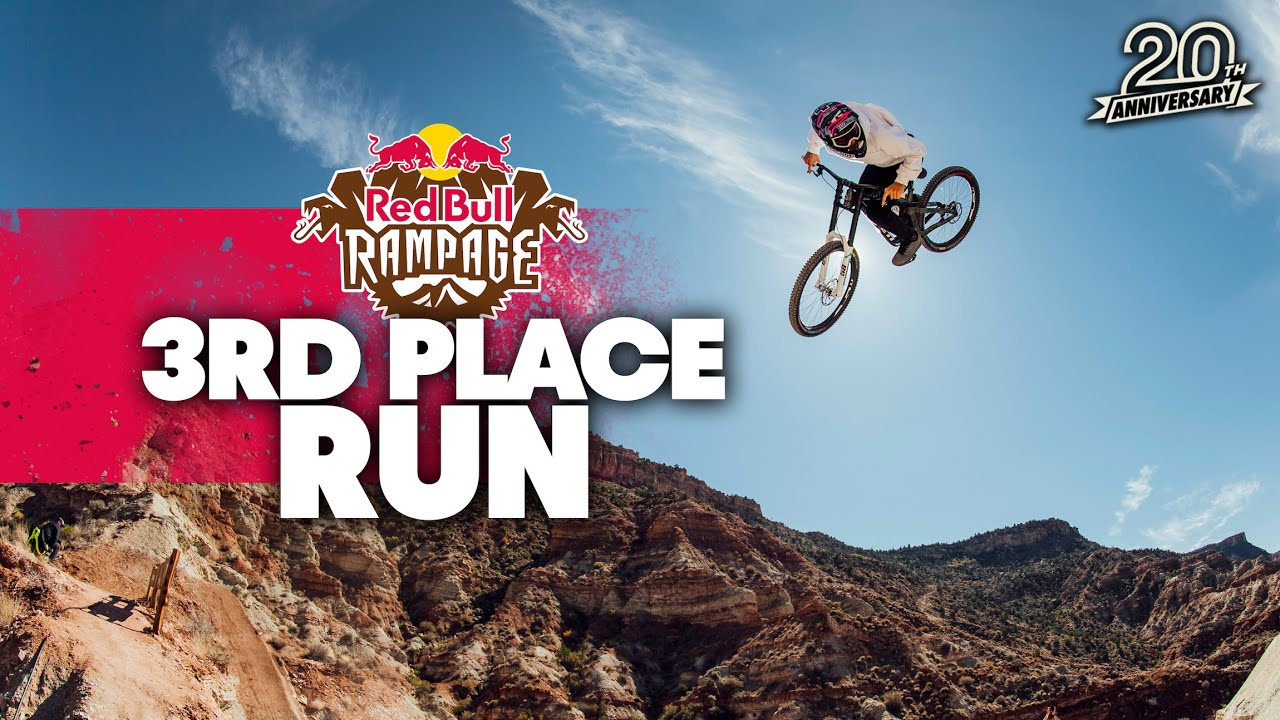 Download Reed Boggs Drop Spinning 3rd Place Run at Red Bull Rampage 2021