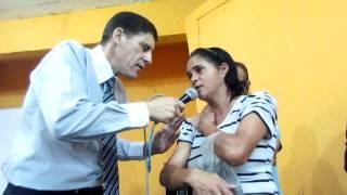 PASTOR SERGIO SORA   APERECIDA CURADA DE FORTES DORES NO BRAÇO DIREITO