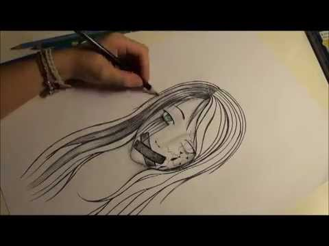 Depression - Speed drawing by Midori - YouTube