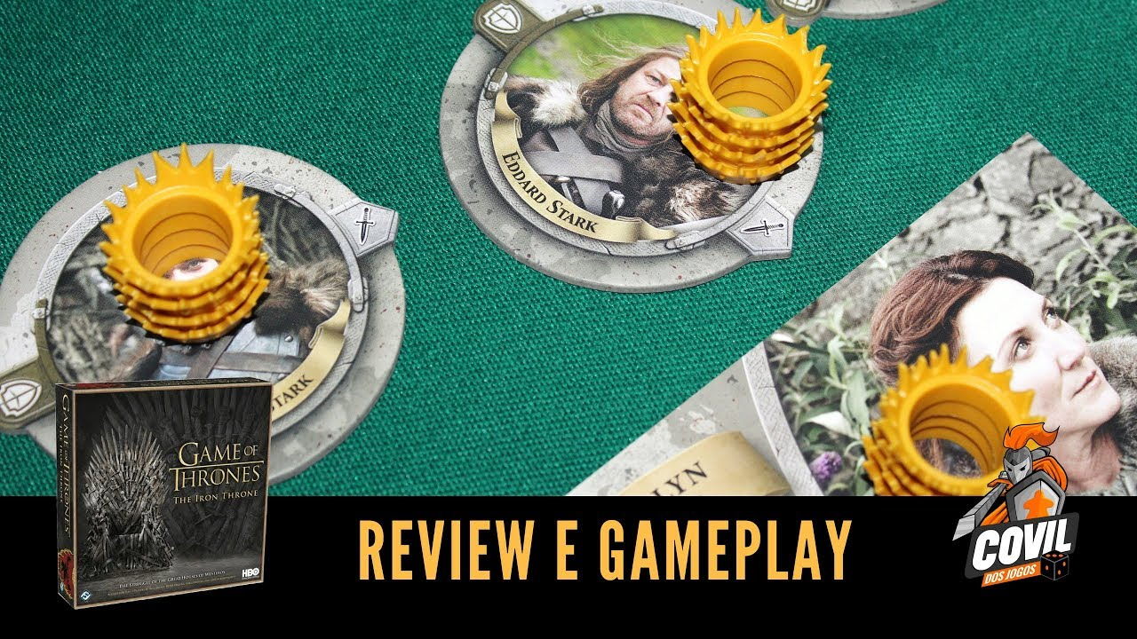 Covil dos Jogos - Review e Gameplay Game of Thrones: O Trono de Ferro