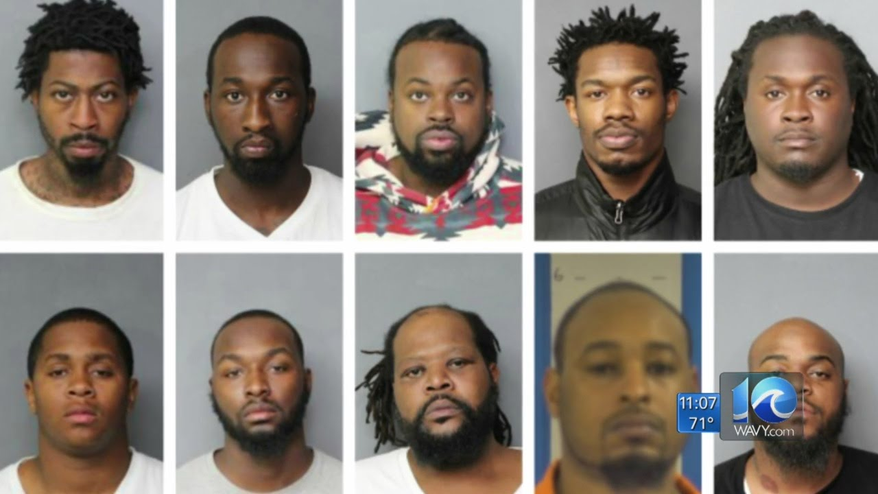 10 people convicted following drug and gun sting in Hampton Roads