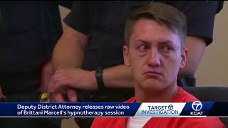 Raw video of beating victim's hypnotherapy session released