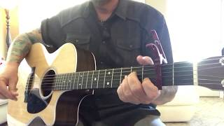 Drunk Me - Mitchell Tenpenny (acoustic cover) (guitar cover) Video