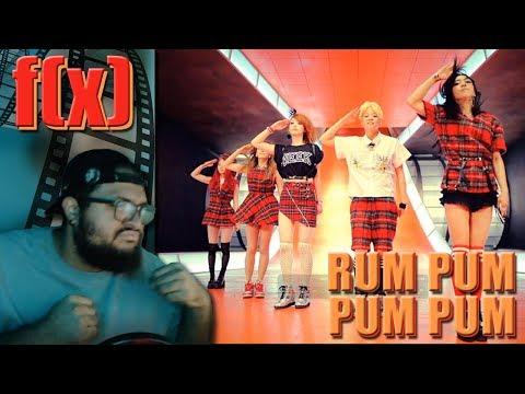 f(x) 에프엑스 - Rum Pum Pum Pum(첫 사랑니) MV REACTION!!!   ok class . . . #TakeMeBack