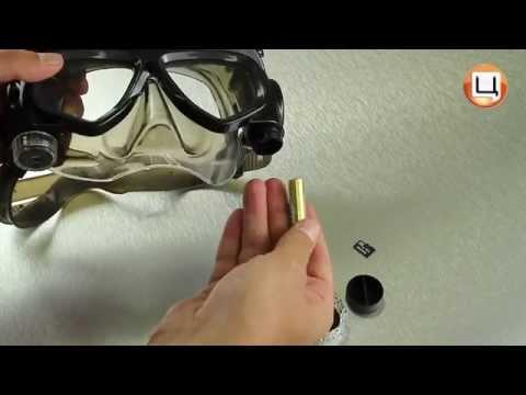 Обзор подводной видеомаски Liquid Image 324. Гаджетариум, выпуск 8