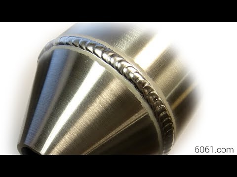 TIG Welding Aluminum Fabrication - Sheet Metal Forming a Cone - 6061