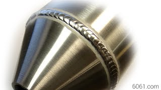 TIG Welding Aluminum Fabrication - Sheet Metal Forming - Conical Transition