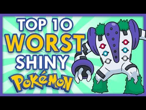 Top 10 WORST Shiny Pokemon