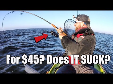 How GOOD Can A $45 Fishing Reel Possibly Be? (Okuma No Clickbait Field Test)