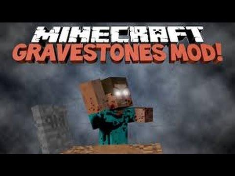 how to make minecraft gravestone