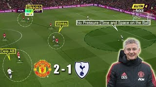 Mourinho Suffers his 1st Defeat  Man United vs Tottenham 2-1  Tactical Analysis