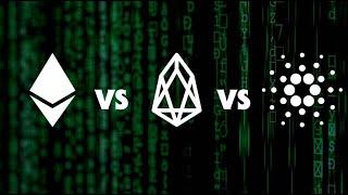 Ethereum, Cardano, EOS - The 2020 Smart Contract Blockchain Race