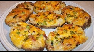 How to Cook Twice-Baked Potatoes - Simple, Easy, Best, Southern Recipe