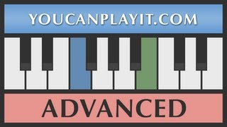 Bach - Minuet in C Minor BWV Anh 121 [Advanced Piano Tutorial]