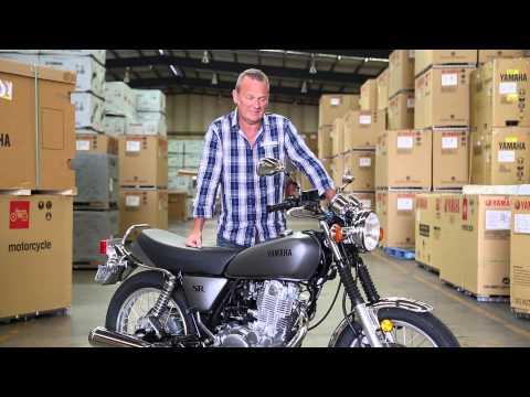 Yamaha SR400 คลาสสิคไบค์โฉมใหม่ ทันสมัยในความดั้งเดิม