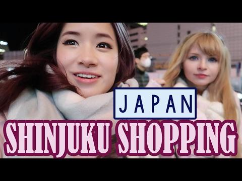 Shopping in Shinjuku & Meeting PeachMilky | KimDao